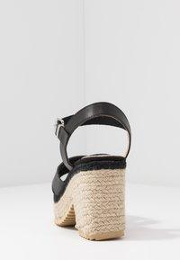 mtng - CAMBA - High heeled sandals - black - 5