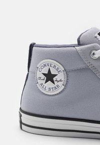 Converse - CHUCK TAYLOR ALL STAR STREET MID UNISEX - High-top trainers - gravel/ light carbon/white - 5