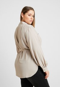 River Island Plus - Button-down blouse - mink - 2