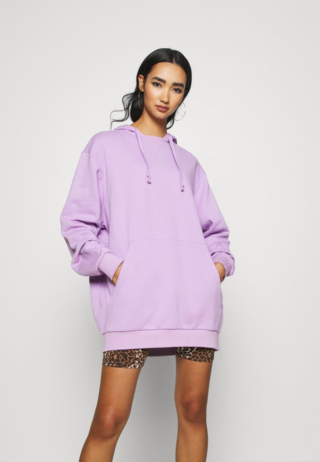 OVERSIZE HOODIE - Jersey con capucha - lilac
