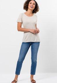 zero - Blouse - raw cotton melange - 1