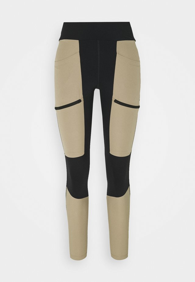 TRACK - Tights - true beige/black