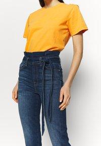 7 for all mankind - PAPERBAG PANT - Slim fit jeans - dark blue - 3