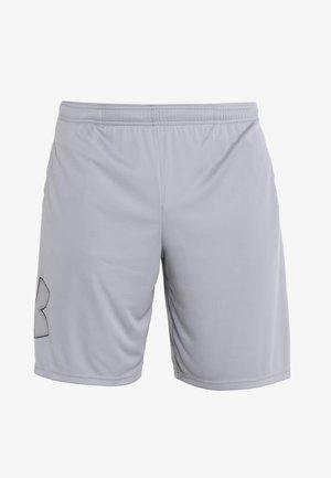 TECH GRAPHIC SHORT - Sports shorts - steel/black