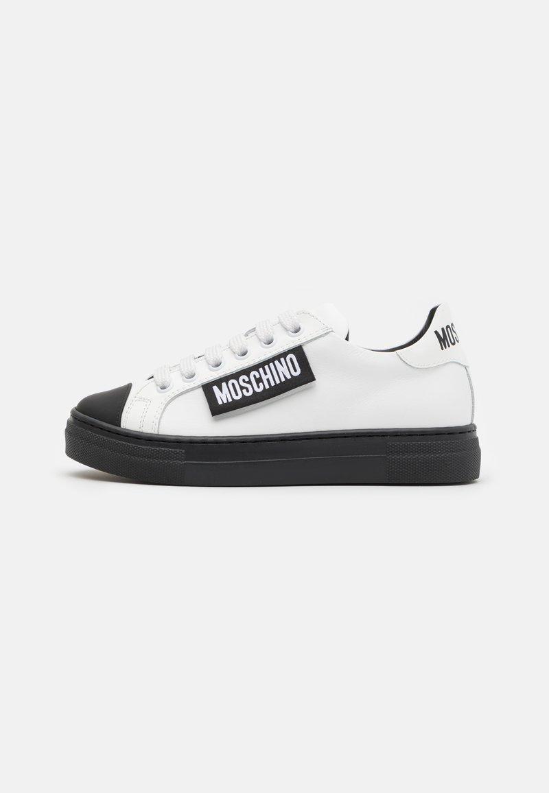 MOSCHINO - UNISEX - Tenisky - white/black