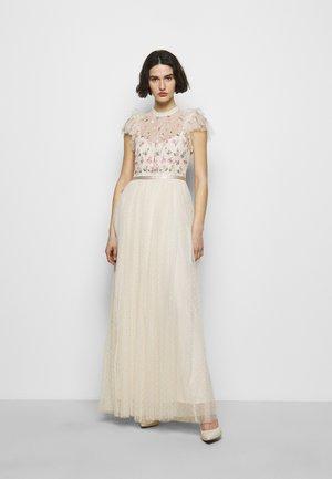 ROCOCO BODICE MAXI DRESS - Společenské šaty - champage