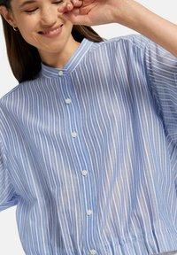 Uta Raasch - Button-down blouse - marine - 4