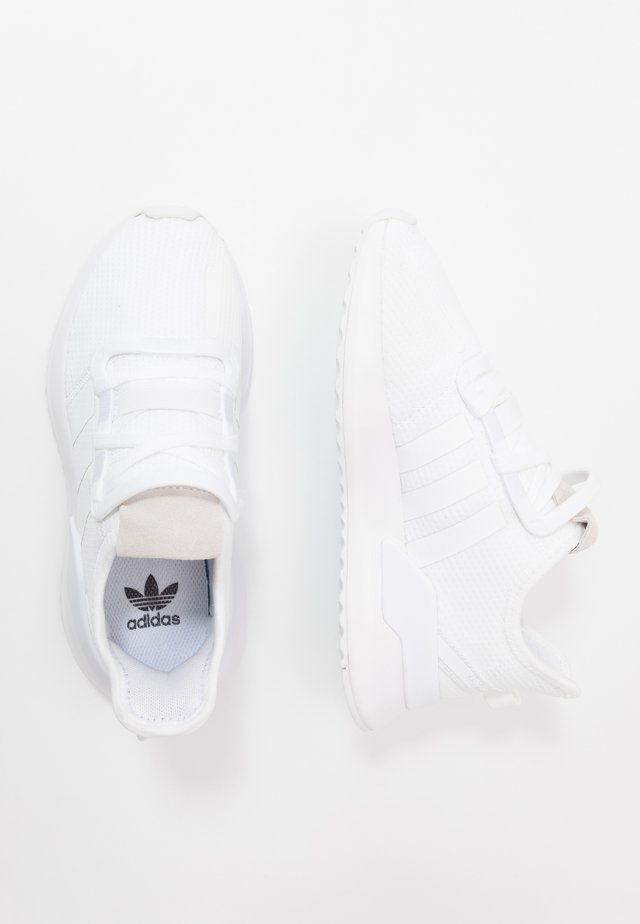 U_PATH RUN - Matalavartiset tennarit - footwear white