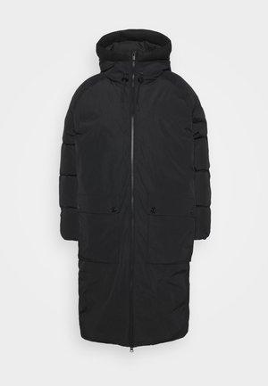 STELLA COAT - Abrigo de plumas - black