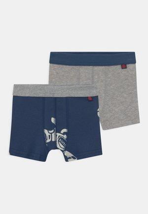 2 PACK - Pants - dark denim