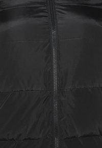 Noisy May Tall - NMMAI LONG JACKET - Winter coat - black - 2