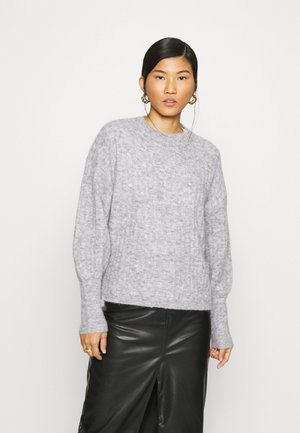 ALPIA - Jumper - high-rise grey melange
