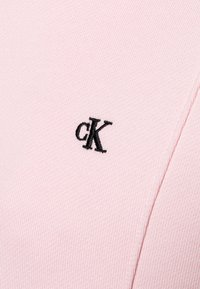Calvin Klein Jeans - LOGO INTARSIA HOODED DRESS - Day dress - pink - 2