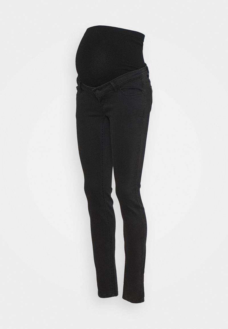 MAMALICIOUS - MLNOAH SLIM FIT - Vaqueros slim fit - black
