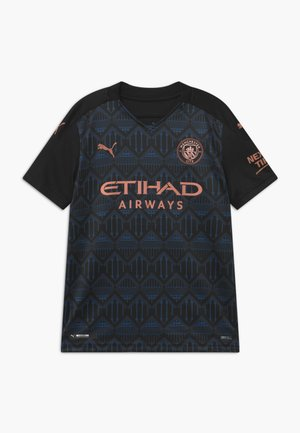 MANCHESTER CITY AWAY REPLICA - Club wear - black/dark denim