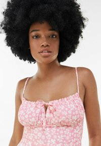 Bershka - Sukienka letnia - pink - 3