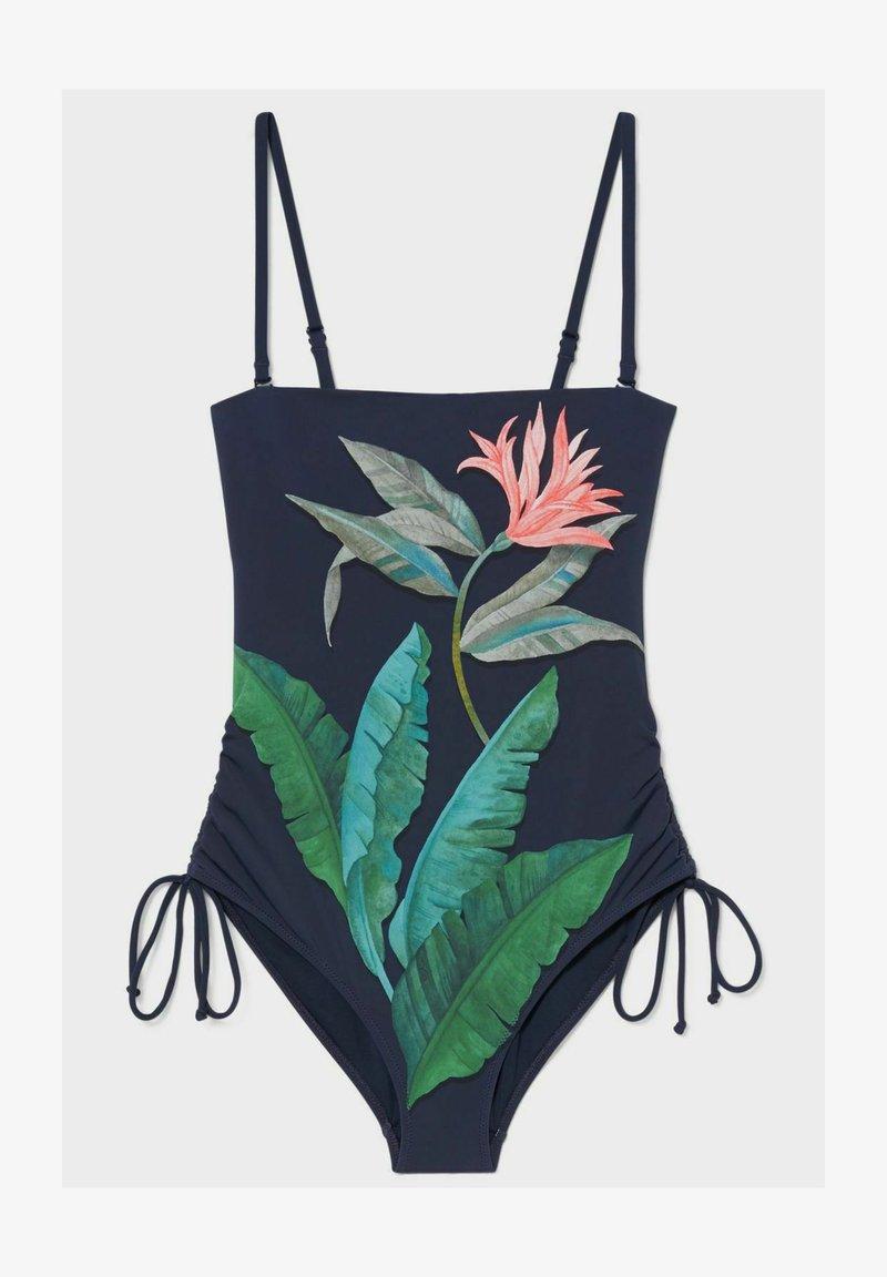 C&A - Swimsuit - dark blue