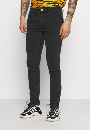 CHASE - Jean slim - greyish black