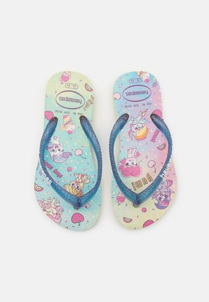 MY LITTLE PONY - T-bar sandals - lemon yellow