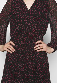 DKNY - Day dress - black rudolph/red powder/pink multi - 5