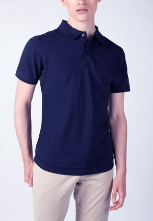 Poloshirt - indigo blau