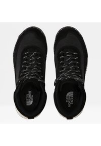 The North Face - W BACK-TO-BERKELEY III REGRIND WP - Mountain shoes - tnf black/vintage white - 4