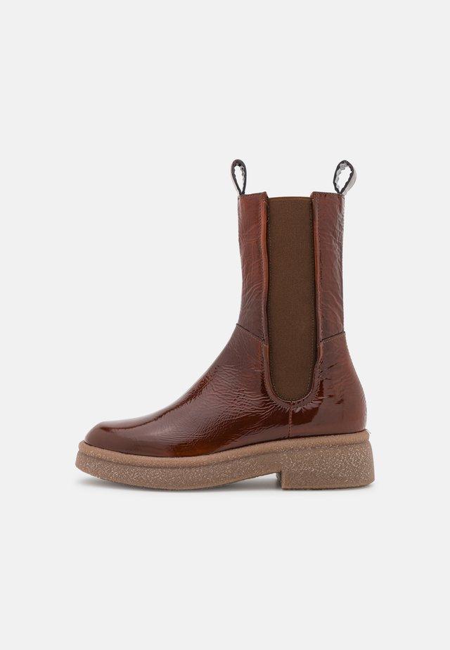 Platform ankle boots - penny
