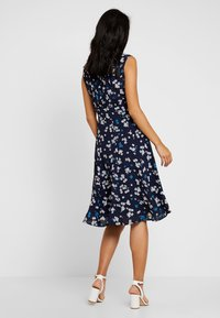 Marc O'Polo - DRESS FEMININE SHAPE FLARED - Day dress - dark blue - 2
