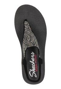 Skechers - MEDITATION - T-bar sandals - zwart - 3