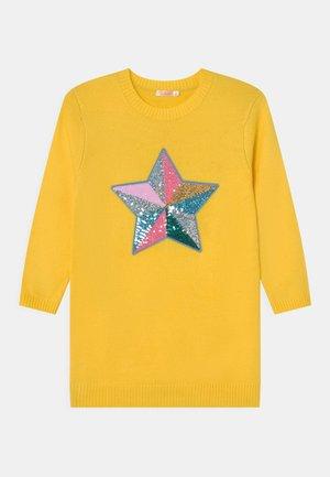 DRESS - Jumper dress - yellow