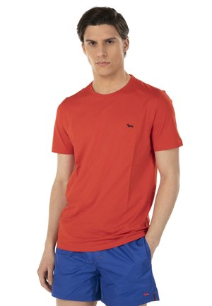 T-shirt basic - rosso screziato