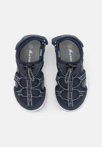 Viking - THRILL UNISEX - Walking sandals - royal/orange - 3