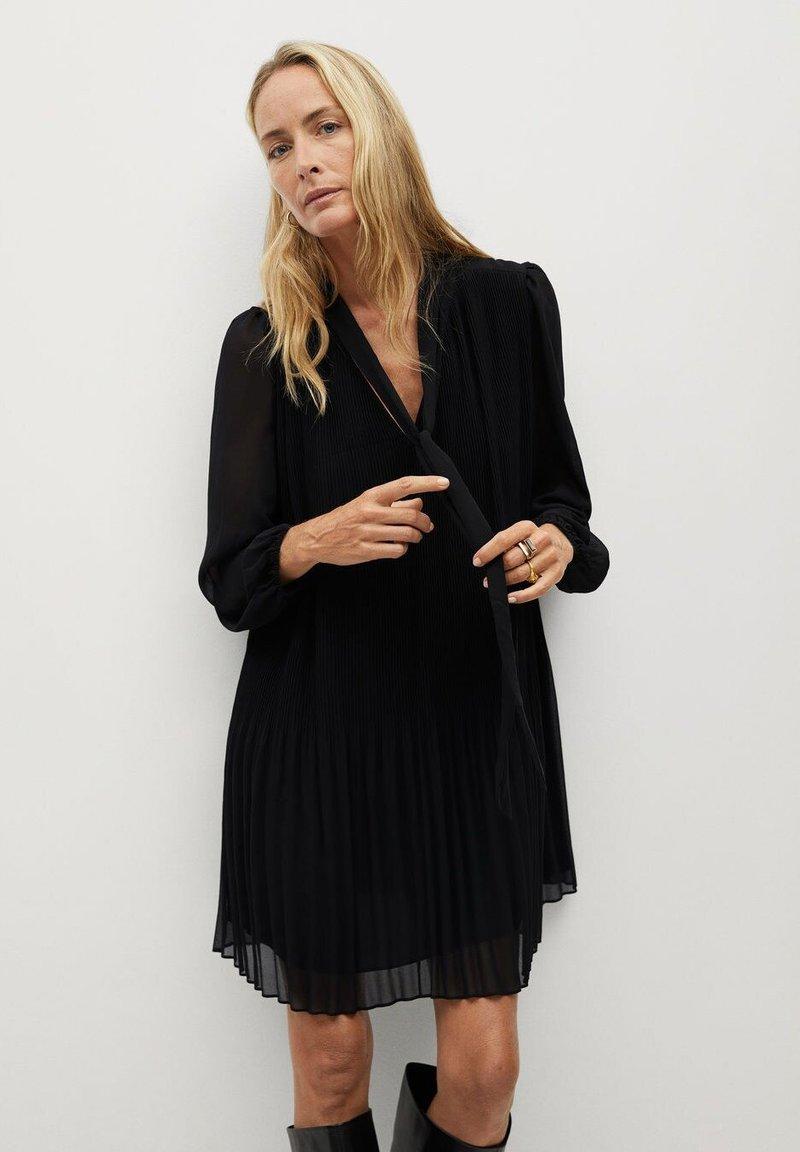 Mango - LACITO - Day dress - black