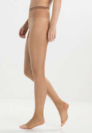 FALKE SHELINA TOELESS 12 DENIER STRUMPFHOSE ULTRA-TRANSPARENT GLÄNZEND  - Tights - sun new