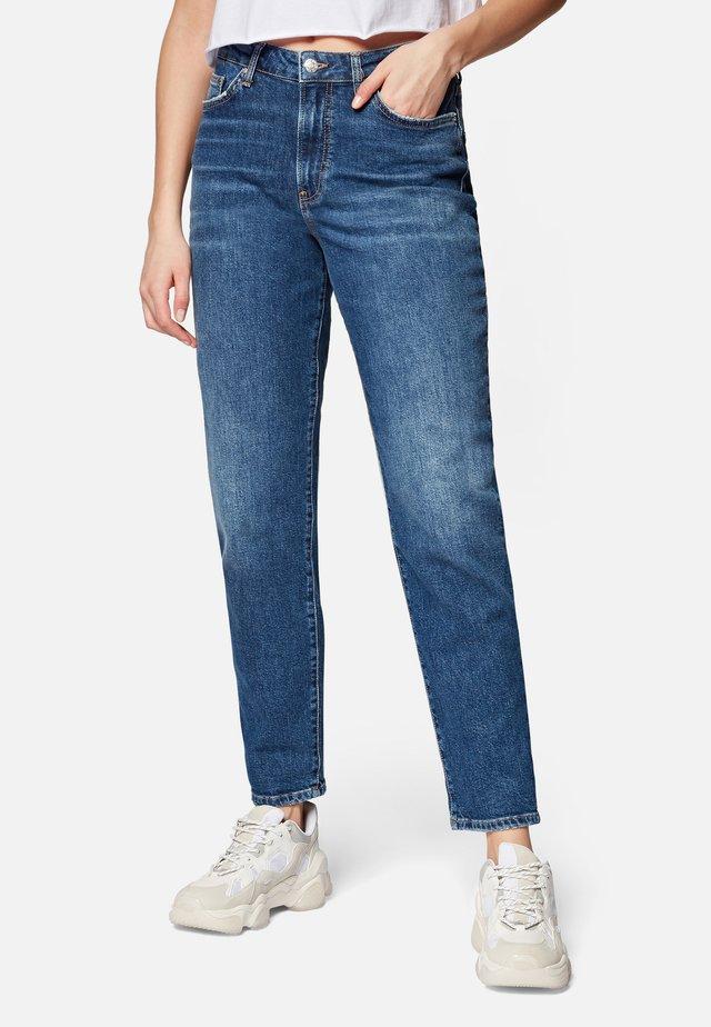 STELLA - Straight leg jeans - dark shaded all blue