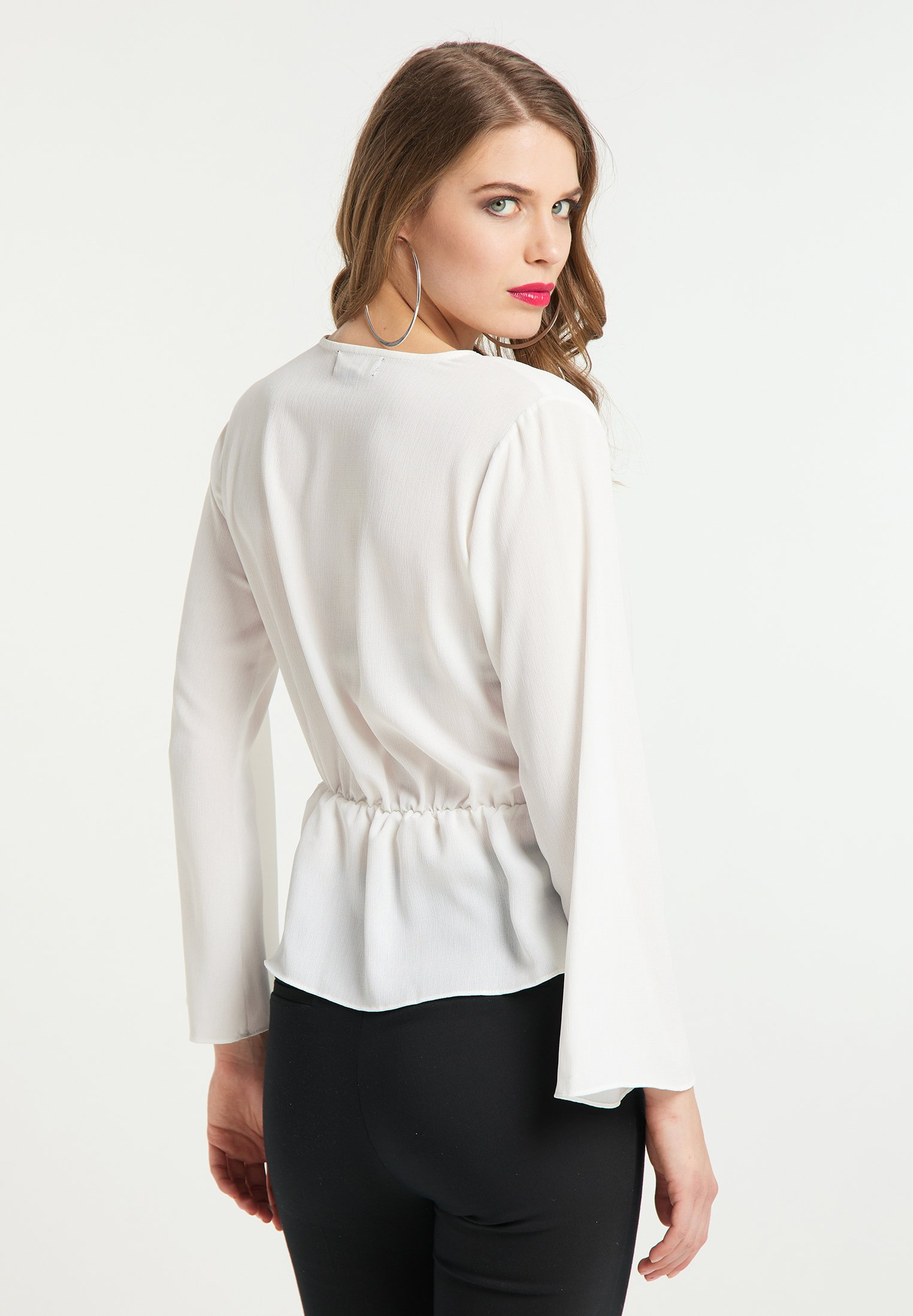 Huge Surprise Women's Clothing faina Blouse weiss LnIOmAkxX