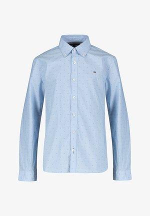 "TOMMY HILFIGER JUNGEN HEMD ""DOBBY"" - Košile - light blue"