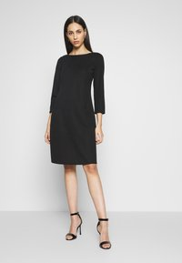 Wallis Tall - BUCKET POCKET SWING DRESS - Trikoomekko - black - 0