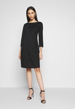 BUCKET POCKET SWING DRESS - Jersey dress - black