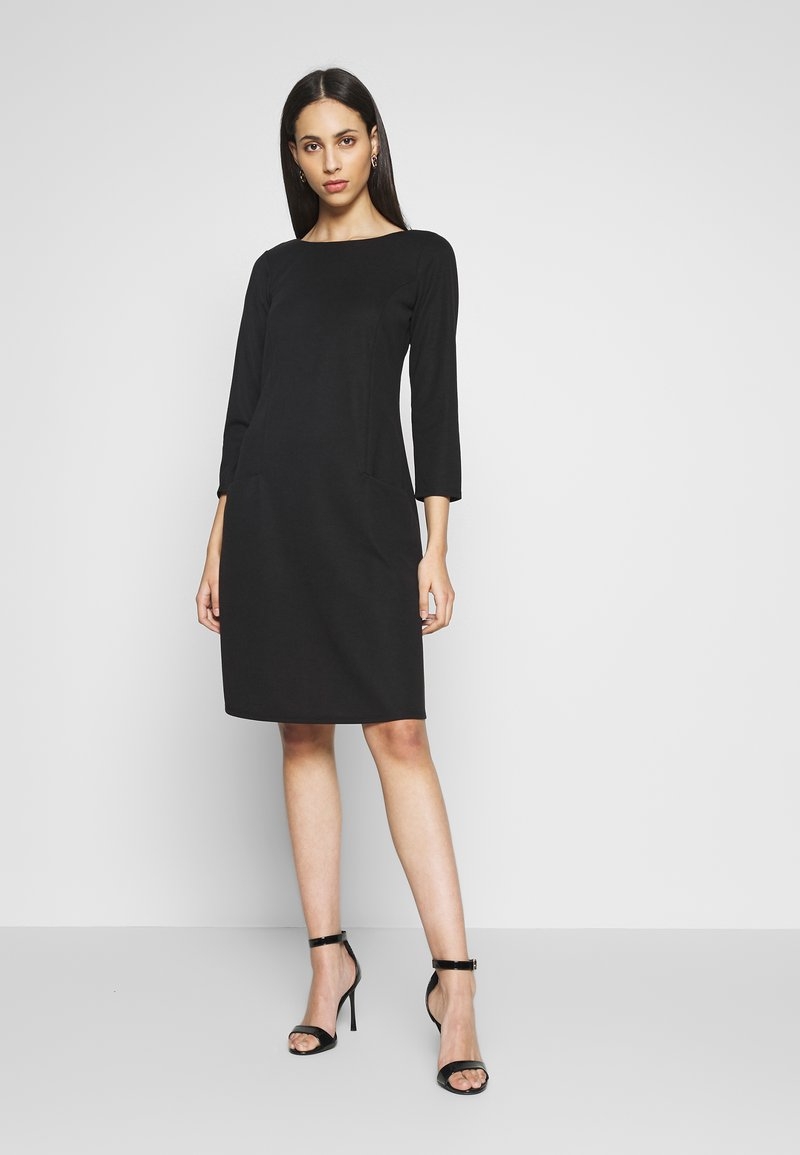 Wallis Tall - BUCKET POCKET SWING DRESS - Trikoomekko - black