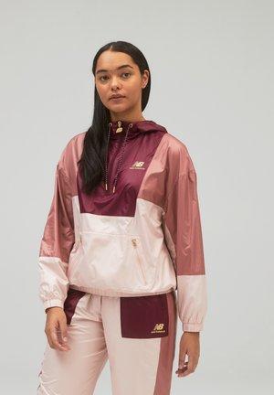 ATHLETICS  - Soft shell jacket - washed henna