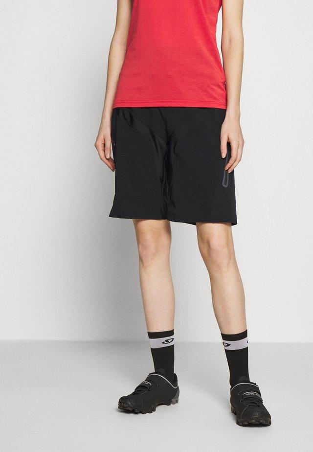 HALE SHORTS - Sports shorts - black