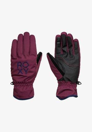 FRESH FIELDS  - Gloves - prune