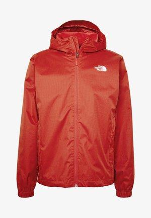 MENS QUEST JACKET - Waterproof jacket - sunbaked red dark heather
