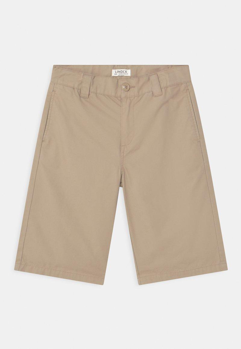 Lindex - LOOSE SKATE FIT WIDER LEG - Shorts - beige