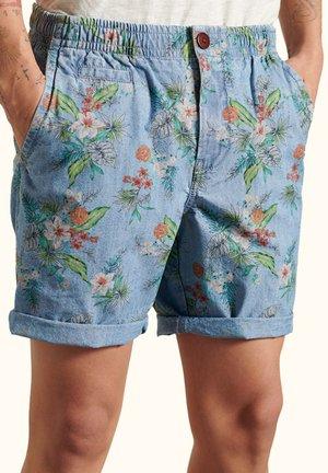 Shorts - chambray hawaiian