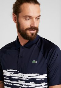 Lacoste Sport - TENNIS POLO DJOKOVIC - Polo shirt - navy blue/white - 3