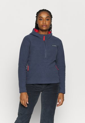 NORTHERN REACH SHERPA ANORAK - Felpa in pile - nocturnal