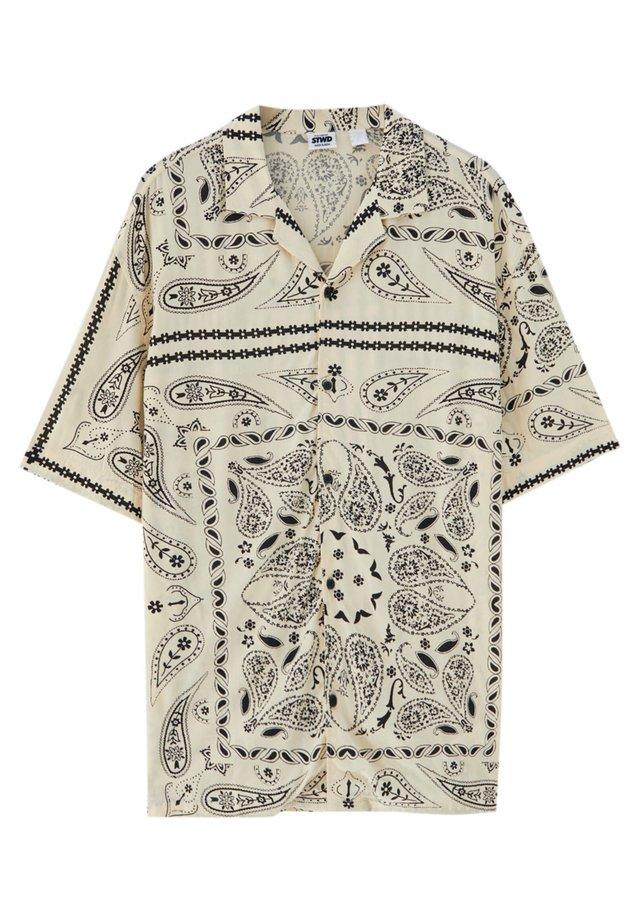 Koszula - mottled beige