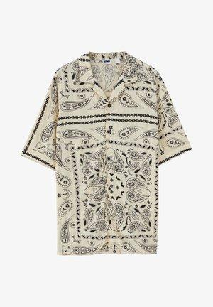 Košile - mottled beige